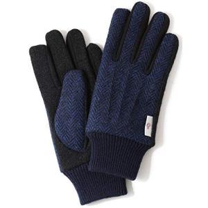 KURODA(クロダ) 手袋 ハリスツイード スマホ操作可能 日本製 メンズ