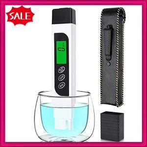 KINCREA 水質測定器 TDSメーター ECメーター 水質分析 水温 導電率検出 測定範囲 0-9999ppm LCD表示 自動的に校正 飲料 shopyamamoto