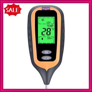 PHメーター 測定 土壌酸度計 地温 水分 照度 土壌測定器 マニュアルの日本語版|shopyamamoto