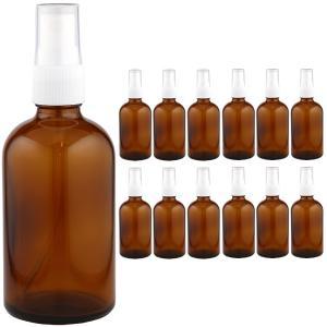 [送料無料]遮光瓶(スプレー付) 褐色 100ml 1ケース(12本入)|shopyuwn
