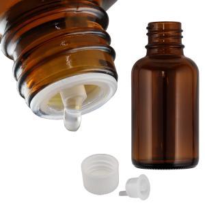 遮光瓶(ドロッパー付) 褐色 30ml|shopyuwn