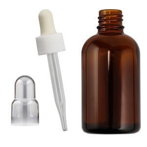 遮光瓶スポイト付 褐色びん 60ml|shopyuwn