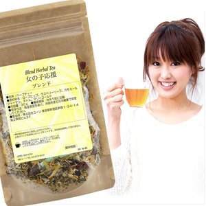 女の子応援ブレンド お試し 30g ハーブティー:ラズベリーリーフティー:ドライハーブ:ハーブ茶:お茶:健康茶:茶葉:ブレンド茶:PMS:PMDD|shopyuwn