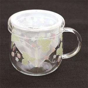 GO型ティーメイトロマンチックストロベリー ハーブティー ティーカップ|shopyuwn