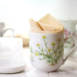 磁器カップSO型 カモミール柄 ハーブティー ティーカップ|shopyuwn