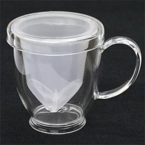 ガラスカップ パフGCI-78T ハーブティー ティーカップ|shopyuwn