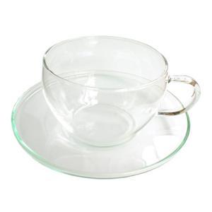 ガラスカップ&ソーサーGCS-1型 クリアー|shopyuwn