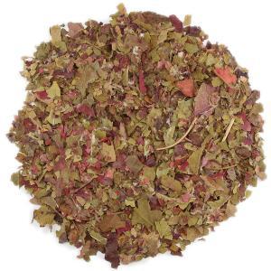 レッドワインリーフティー(赤ぶどう葉茶)業務用500g ハーブティー ブドウ葉茶 赤葡萄葉茶 レッドグレープリーフティー 赤ブドウ葉茶乾燥 ドライハーブ|shopyuwn