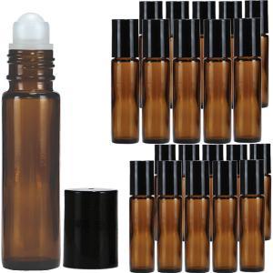 ロールオンボトル褐色10ml×20本セット|shopyuwn