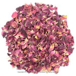 ローズレッド バラの花びら お徳用200g ローズレッドペタル 花びら ローズティー 薔薇茶 ハーブティー ドライハーブ|shopyuwn