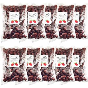 なつめ ドライフルーツ 業務用10kg(1Kg×10袋)赤棗  たいそう 大紅ナツメ 乾燥なつめ茶 薬膳料理 中華食材 乾燥果実 種あり赤なつめ乾燥無添加 砂糖無し大泡棗 shopyuwn