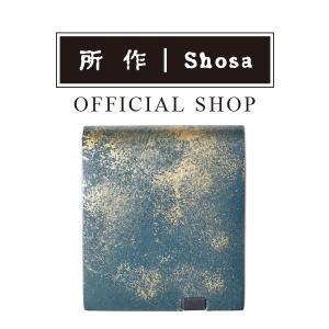 所作 公式 / 財布 / ショートウォレット2.0 / 雲母 キララ / 紫苑|shosa-nonoyes