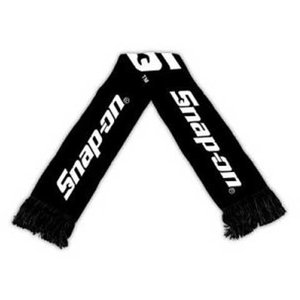 Snap-on(スナップオン)マフラー「BLACK KNIT STADIUM SCARF」|shouei-st