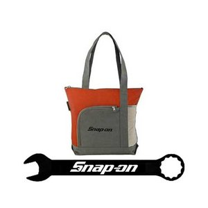 Snap-on(スナップオン)トートバッグ「RED / GRAY SHOULDER TOTE」|shouei-st