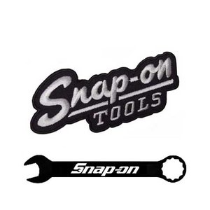 Snap-on(スナップオン)ワッペン「1950's VINTAGE PATCH - BLACK」 shouei-st