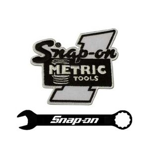 Snap-on(スナップオン)ワッペン「METRIC TOOLS PATCH」 shouei-st
