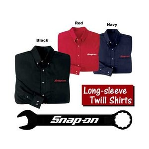 Snap-on(スナップオン)長袖シャツ「LONG SLEEVE TWILL SHIRT」|shouei-st