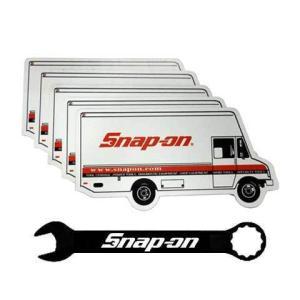 Snap-on(スナップオン)マグネット「SNAP-ON TOOL VAN MAGNET」5枚|shouei-st