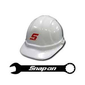 Snap-on(スナップオン)ヘルメット「WHITE HARD HAT」 shouei-st
