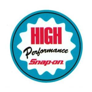 Snap-on(スナップオン)オフィシャルステッカー04「HIGH PERFORMANCE」 shouei-st