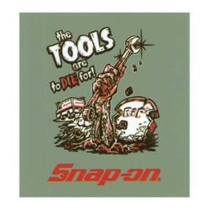 Snap-on(スナップオン)オフィシャルステッカー05「ZOMBIE - GRAY」 shouei-st