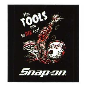 Snap-on(スナップオン)オフィシャルステッカー06「ZOMBIE - BLACK」 shouei-st