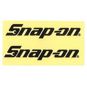 Snap-on(スナップオン)ロゴ転写ステッカー MEDIUM 01「LOGO - BLACK」 shouei-st