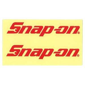 Snap-on(スナップオン)ロゴ転写ステッカー MEDIUM 02「LOGO - RED」 shouei-st