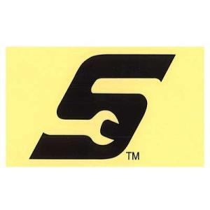 Snap-on(スナップオン)ロゴ転写ステッカー MEDIUM 08「WRENCH S LOGO - BLACK」 shouei-st