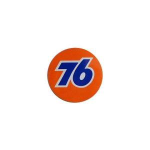 76Lubricants(ユノカル76)オフィシャルラウンドロゴステッカー(1)|shouei-st