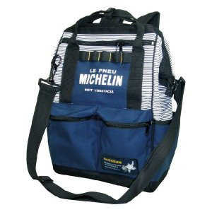 Michelin(ミシュラン)4wayバッグ、ネイビー/ストライプ|shouei-st