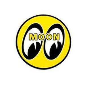 MOONEYES(ムーンアイズ)アイボールステッカー、サイズM(直径7.5cm)|shouei-st