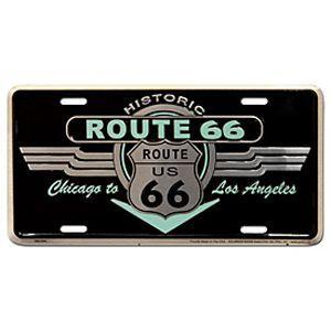Route.66(ルート66)ライセンスプレート【1】|shouei-st