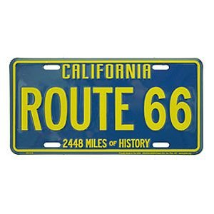 Route.66(ルート66)ライセンスプレート【2】|shouei-st