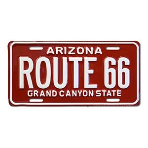 Route.66(ルート66)ライセンスプレート【3】|shouei-st