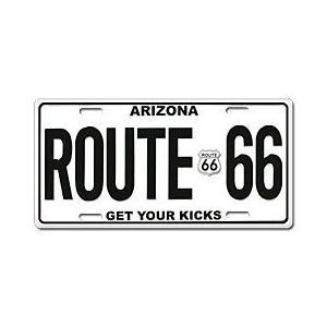 Route.66(ルート66)ライセンスプレート【4】|shouei-st