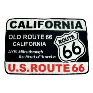 Route.66(ルート66)室内用フロアマット「CALIFORNIA ROUTE 66」|shouei-st