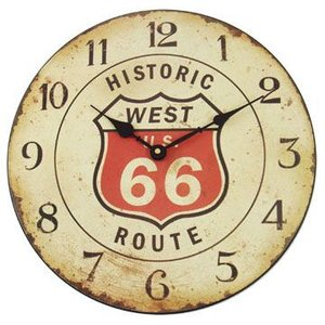 Route.66(ルート66)時計「REJECTION CAFE WALL CLOCK