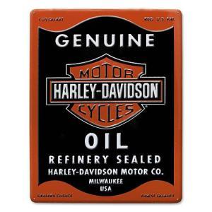 HARLEY DAVIDSON(ハーレーダビッドソン)ティンサイン【2】「H-D OIL CAN RECTANGLE TIN」|shouei-st