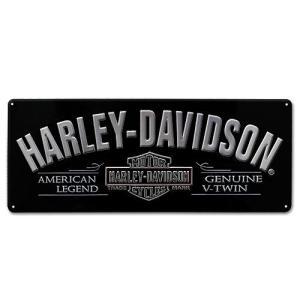 HARLEY DAVIDSON(ハーレーダビッドソン)ティンサイン【4】「H-D V-TWIN TIN」|shouei-st