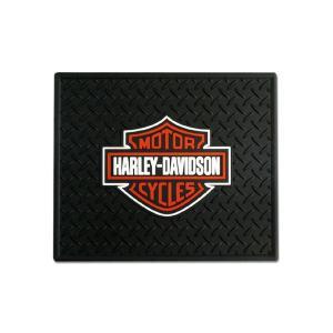 HARLEY-DAVIDSON(ハーレーダビッドソン)ユーティリティーラバーマット、スタンダードロゴ|shouei-st