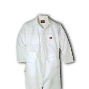 Dickies(ディッキーズ)ペインターズカバーオール<長袖ツナギ>ホワイト|shouei-st