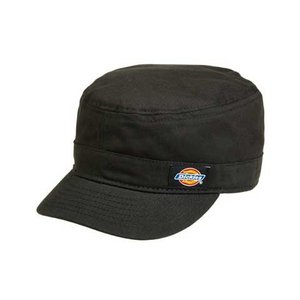 Dickies(ディッキーズ)CORE FITTED CADET CAP【BLACK】ワークキャップ,帽子,ブラック shouei-st