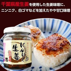 にんにく生姜味噌 140g 1本(国産) ご飯の友 味噌 お取り寄せ|shougakoubou