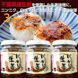 にんにく生姜味噌 140g 3本|shougakoubou