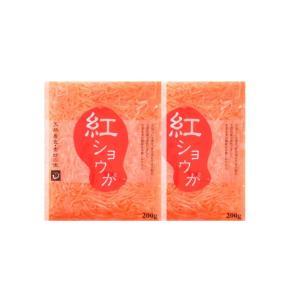 紅しょうが200g×3袋  紅生姜 天然着色 DM便送料無料 ポイント消化 冷やし中華|shougakoubou