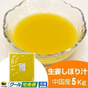 【冷凍】生姜汁 5キロ 中国産|shougakoubou