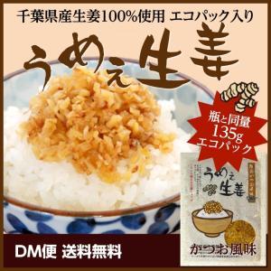 うめぇ生姜エコパック(鰹) 135g 1パック クリックポスト 送料無料 ポイント消化 お試し 食品|shougakoubou