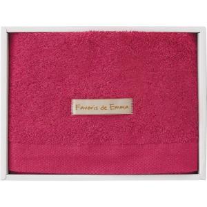 つかいたい贈りたい エマのお気に入り フェイスタオル ラズベリーピンク EM01503 19C9046-535 お祝い 出産内祝 内祝 快気祝 記念品 ギフト|shoujikidou