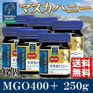 マヌカハニー MGO400+ 250g 6個 ...の関連商品4